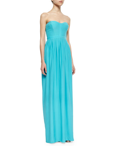 Venice Strapless Maxi Dress, Capri