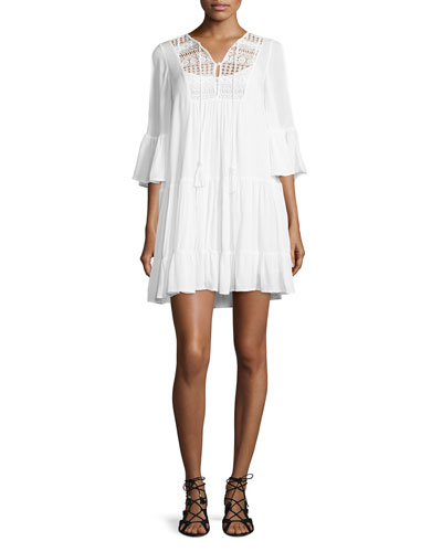 Castaway Lace Dress, Summer White