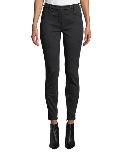 Daryl Ribbed Slim-Fit Pants
