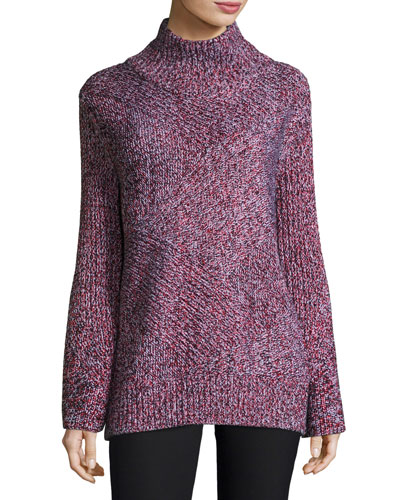Bry Wool-Blend Pullover Sweater
