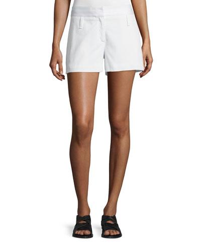 Willow Cotton Shorts, Vanilla