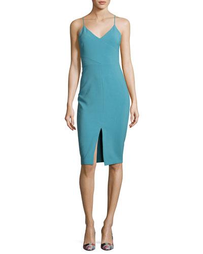 b4e8c3a3fd07 Quick Look. Likely · Brooklyn Slit-Front Slip Dress