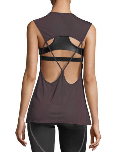 Aura Strappy-Back Performance Tank