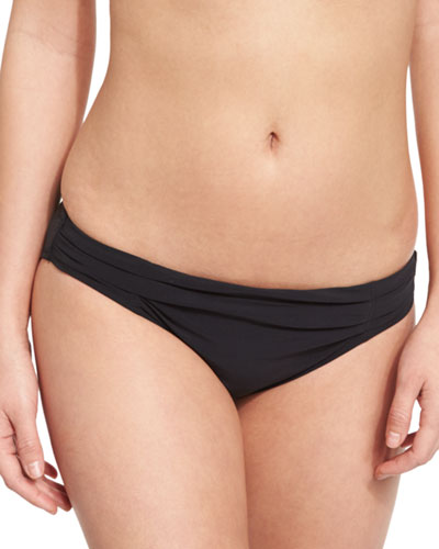 Hanna Gathered Hipster Swim Bottom