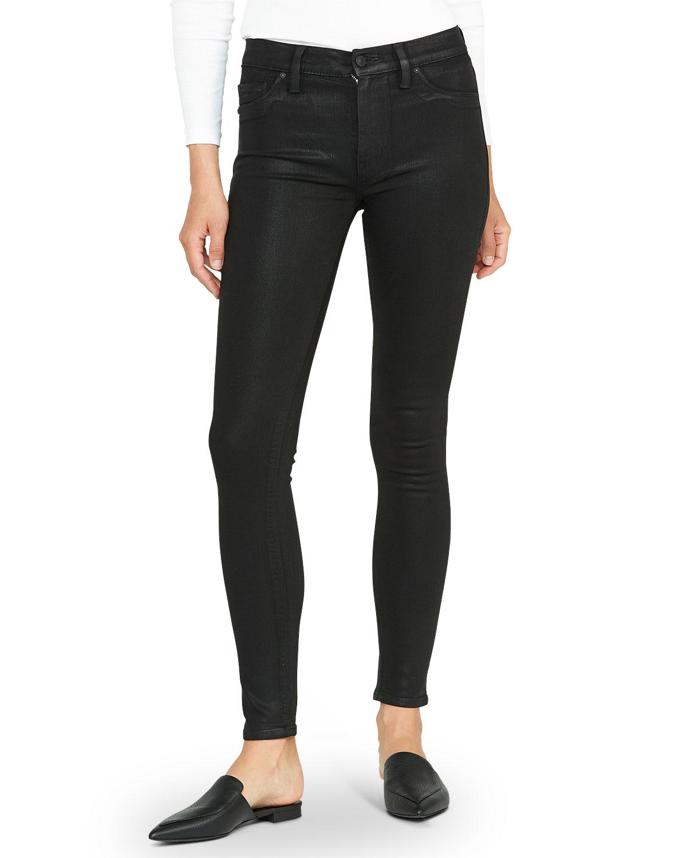 HUDSON Barbara High-Rise Super Skinny Jeans in German Camo