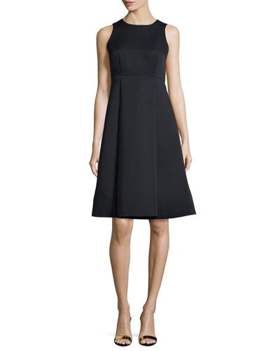 kate spade new york sleeveless fit - & - flare dress