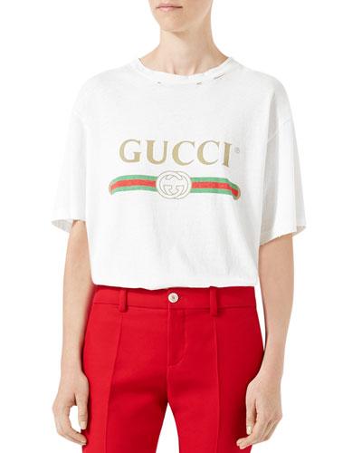 Gucci White Tshirt  a66442141e89