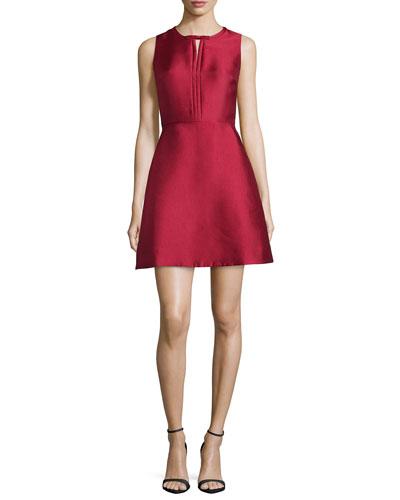 Eliza Fit & Flare Cocktail Dress