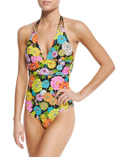Santiago Halter One-Piece Swimsuit