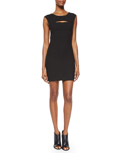 Calley Sleeveless Body-Conscious Mini Dress