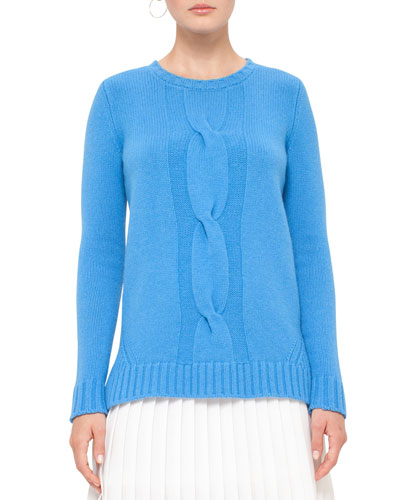 PULLOVER, KNIT, WOOL-CASHMER