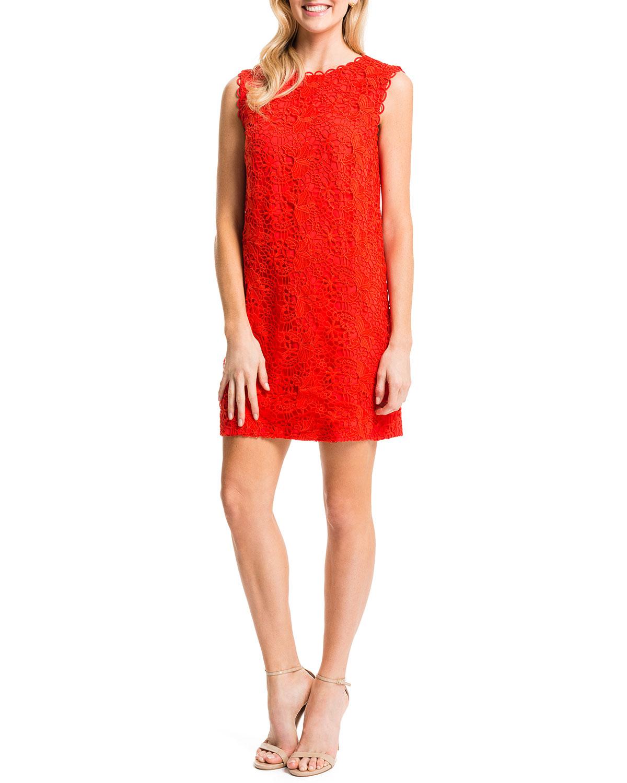 Ranya Sleeveless Lace Dress