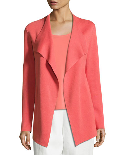 Open Interlock Cascade Jacket, Flora