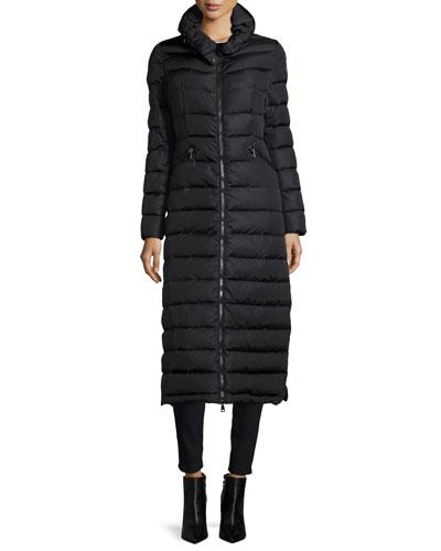 Flammong Long Puffer Coat