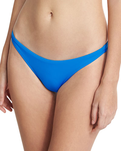 St. Lucia Italian Solid Swim Bottom, Blue