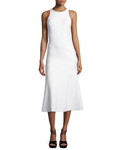 Marley Sleeveless Flared Dress