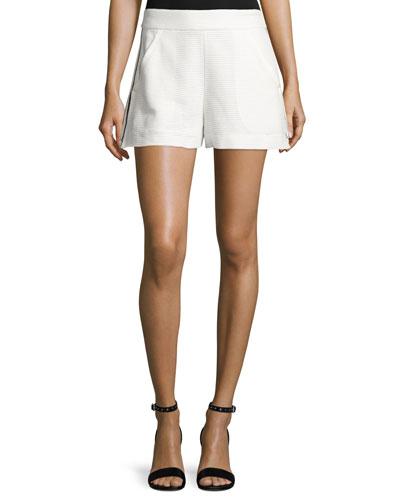 Blair Jacquard Shorts, Off White