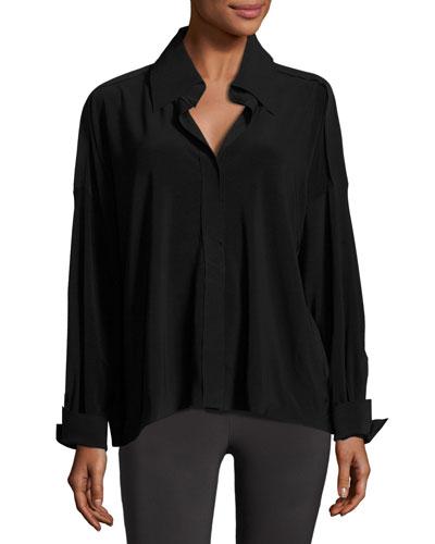 NK Jersey Box Shirt, Black