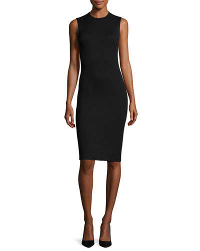Eano B Sleeveless Cocktail Sheath Dress, Black