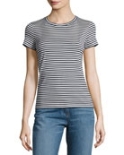Rodiona 2 Everyday Striped T-Shirt, Blue/White