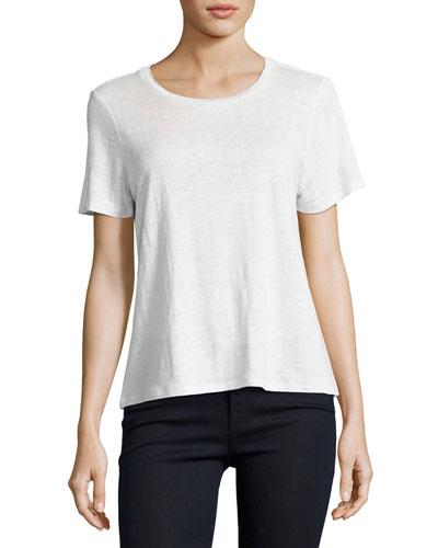 Organic Linen Jersey Top