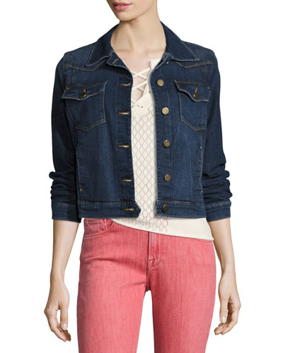 Le Denim Jacket, Messer