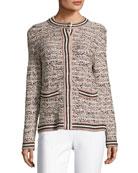 Lurex® Tweed Jacket