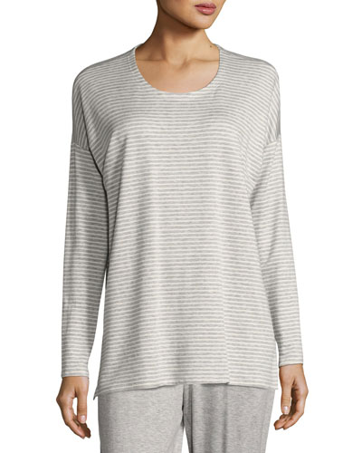 Striped Terry Box Top