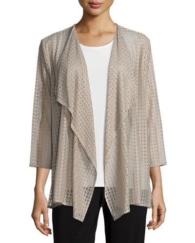 Inner Circle Lace Cardigan, Plus Size