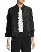 Caroline Rose Made in the Shade Jacket, Black