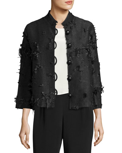 Made in the Shade Jacket, Black, Plus Size