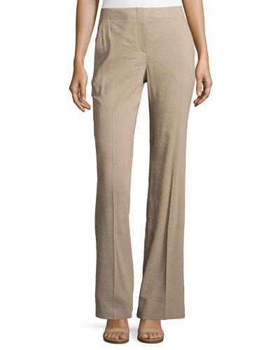 Alldrew Crunch High-Waist Pants
