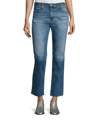 Isabelle 14 Years Daring Straight Cropped Jean, Indigo