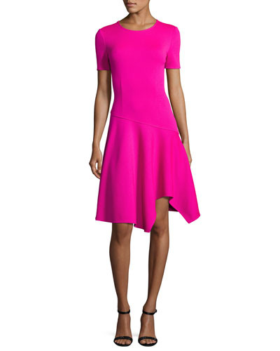 Pink Knit Dress | Neiman Marcus