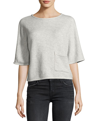 The Painter Pocket Tee, Gray