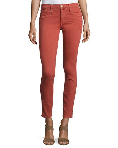 The Skinny Skinny Denim Jeans, Red