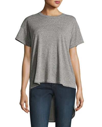 The Shirttail Tee, Gray
