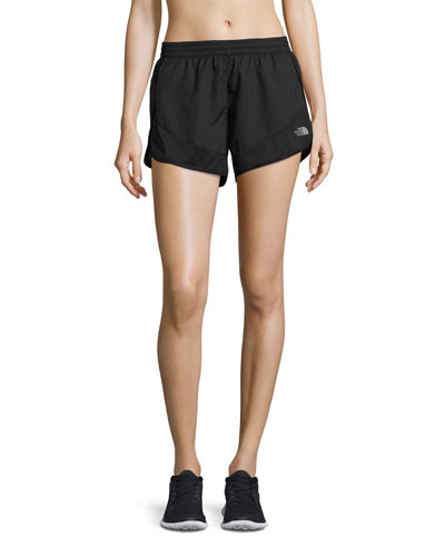 Altertude Hybrid Running Shorts, Black