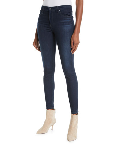 The Farrah High-Rise Skinny Jeans, Brooks