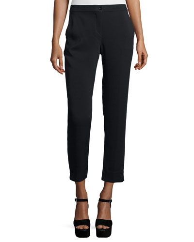 Cady Capri Pants, Black