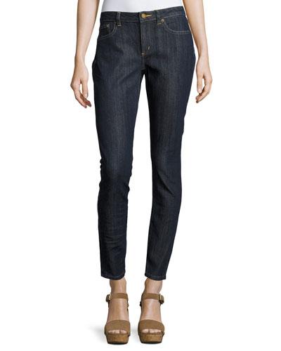 Selma Skinny Ankle Jeans, Indigo