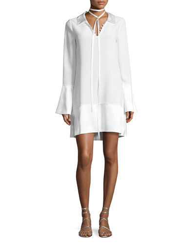 Rya Bell-Sleeve Shift Dress