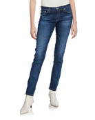 AG Adriano Goldschmied The Stilt Cigarette Skinny Jeans,