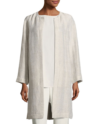 Organic Linen/Cotton Topper Jacket
