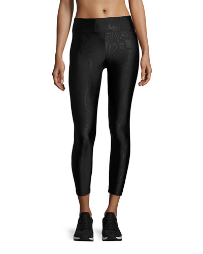 Night Game Performance Leggings, Black