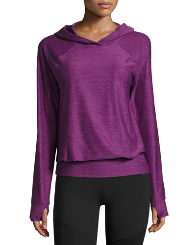 Motivation Jersey Hoodie, Wood Violet Heather (Purple)
