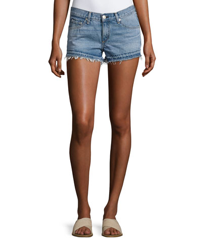 Cutoff Denim Shorts, Indigo