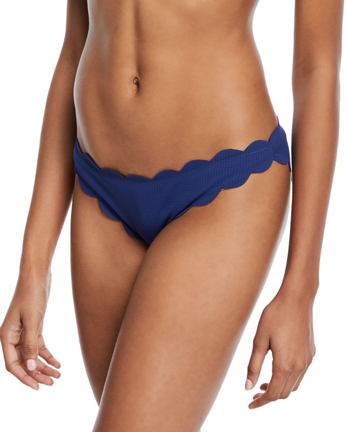 Antibes Scalloped Swim Bikini Bottom