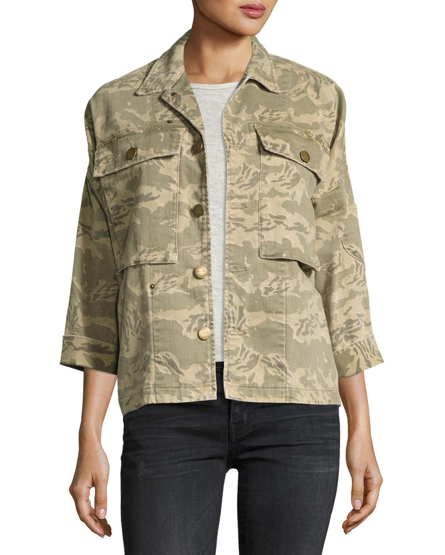 The Militia Camo Army Jacket, Broken Camo