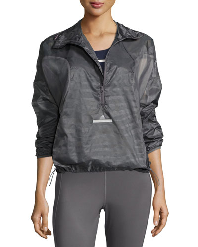 Cycling Adizero Pullover Jacket, Granite